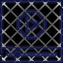 Media Player Interface Icon