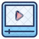 Video Player Video Streaming Online Video Icon