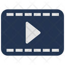 Video Player Play Movie Frame Icon