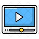 Play Button Video Player Video Streaming Icon