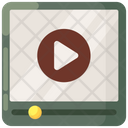 Video Player Viral Video Video Marketing Icon