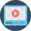 Video Player Video Streaming Video Icon