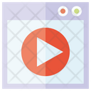 Media Video Play Icon