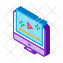 Video Player Computer Icon