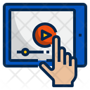 Video Player Training Elearning Icon