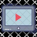 Video Player Entertainment Cinema Icon