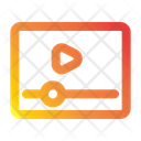 Website Seo And Web Play Button Icon