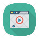 Video Player Browser Icon