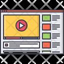 Video Web Page Icon
