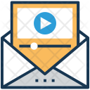 Player Video Envelope Icon