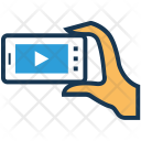 Player Video Streaming Icon