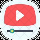 Video Play Media Icon