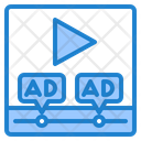 Video Player Ad Icon