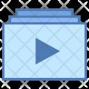 Video playlist Icon