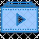 Video Playlist Video Camera Icon