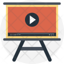 Video Presentation Lesson Icon