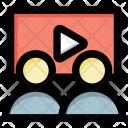 Video Presentation Call Icon