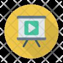 Video presentation Icon