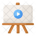 Video Training Video Presentation Video Demonstration Icon
