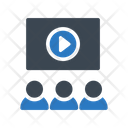 Video Presentation Digital Icon
