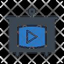 Video Presentation Board Icon