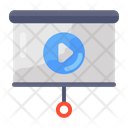 Video Presentation Live Streaming Video Streaming Icon