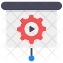 Video Presentation Video Streaming Ppt Presentation Icon