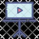 Multimedia Slide Slideshow Icon