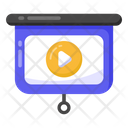 Video Presentation Video Training Video Class Icon