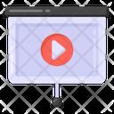Video Video Presentation Projector Display Icon