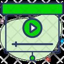Video Presentation Camera Icon