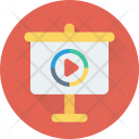Video Presentation Projector Icon
