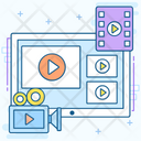 Video Production Promotional Video Videography Icon