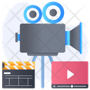 Filmmaking Equipment Video Production Filmmaking Tool Icon