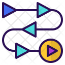 Video Production Process Icon