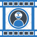 Video Profile Technology Icon