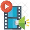 Video Promotion Promotional Video Smartphone App Icon