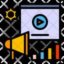 Video Promotion Video Marketing Digital Marketing Icon