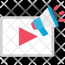 Video Loudspeaker Audio Icon