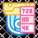 Video Quality Video Quality Icon