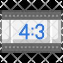 Video Ratio Aspect Ratio Icon