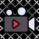Recording Video Movie Icon