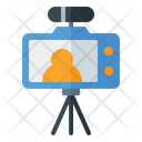 Video Recording Video Shooting Camera Icon