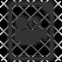 Archive Cinema Video Icon