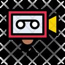 Camera Recording Movie Icon