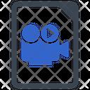 Video Recording File Icon