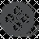 Media Reel Video Clip Reel Multimedia Reel Icon