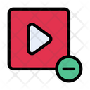 Video Minus Zoomout Icon