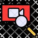 Video Search Video File Icon