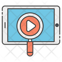Video Searching Icon